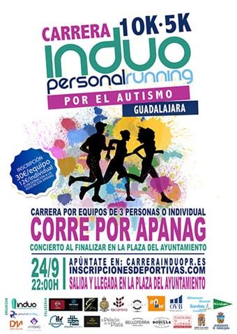 i carrera induo personal running por el autismo 2016