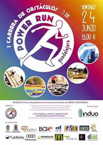 i carrera obstaculos guadalajara power run 2018