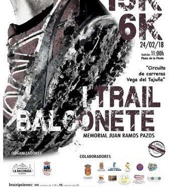 I TRAIL DE BALCONETE – MEMORIAL JUAN RAMOS PAZOS