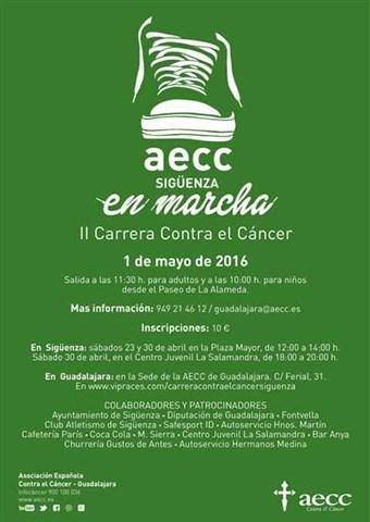 ii carrera contra el cancer 2016