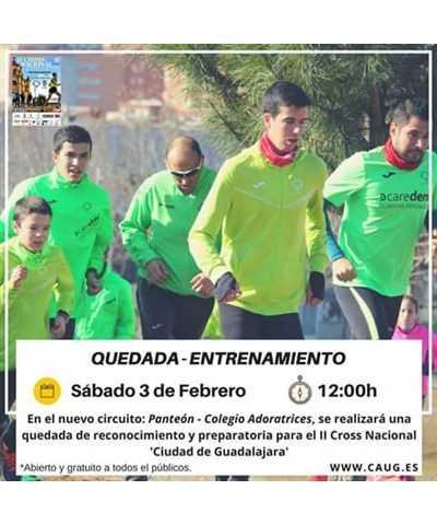 ii cross ciudad de guadalajara quedada entrenamiento 2018
