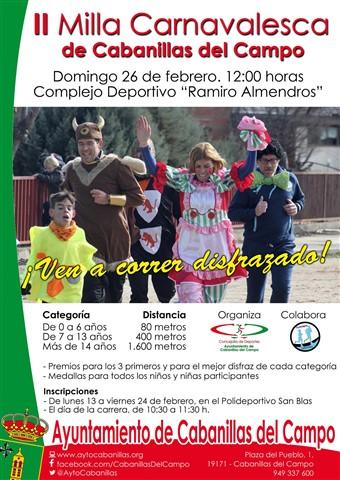 ii milla carnavalesca 2017