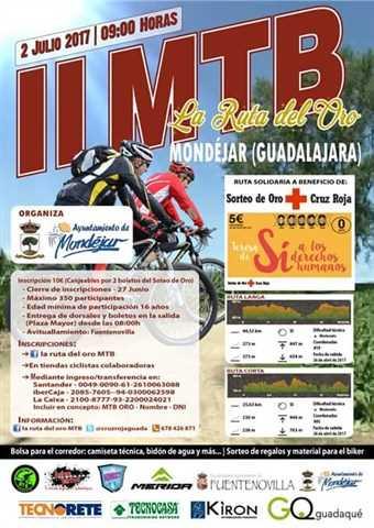 ii mtb ruta del oro 2017