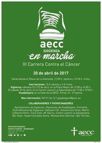 iii carrera contra el cancer 2017
