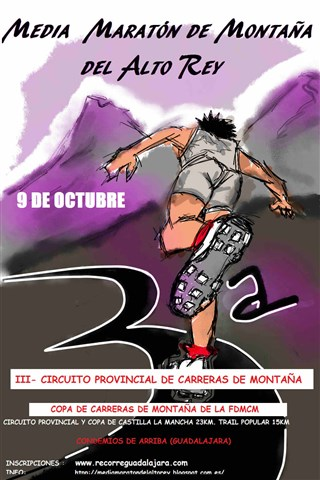 iii media maraton del alto rey 2016