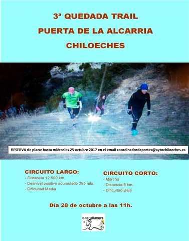 iii quedada trail puerta de la alcarria 2017