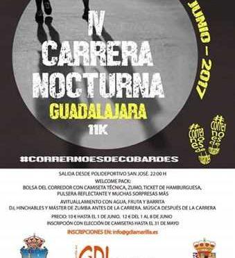 IV CARRERA NOCTURNA DE GUADALAJARA