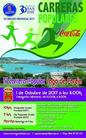 iv carrera popular lago de pareja 2017