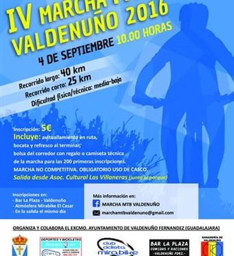 IV MARCHA MTB DE VALDENUÑO