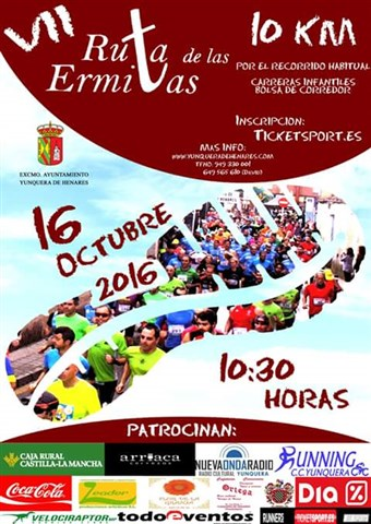 vii carrera popular ruta de las ermitas 2016