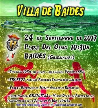 VIII CARRERA POPULAR VILLA DE BAIDES