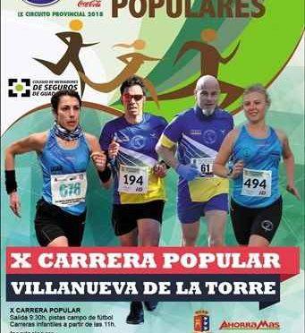 X CARRERA POPULAR DE VILLANUEVA DE LA TORRE