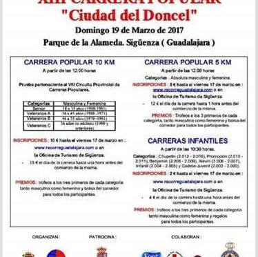 XIII CARRERA POPULAR CIUDAD DEL DONCEL
