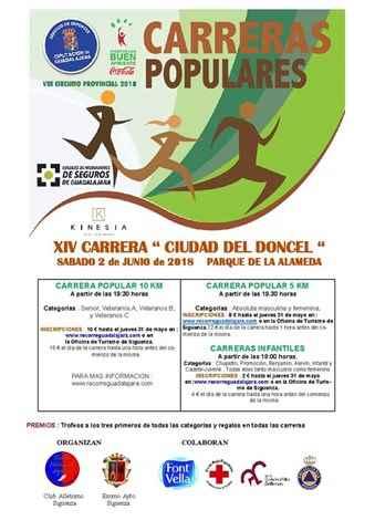 xiv carrera popular ciudad del doncel 2018