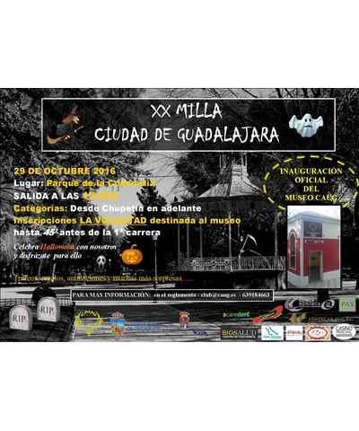 xx milla ciudad de guadalajara 2016