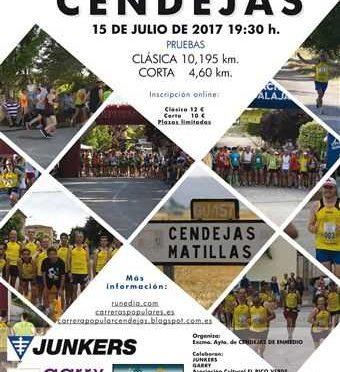 XXXI CARRERA POPULAR DE CENDEJAS