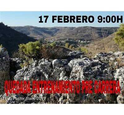 1ª Quedada entrenamiento IV Lupiana Trail