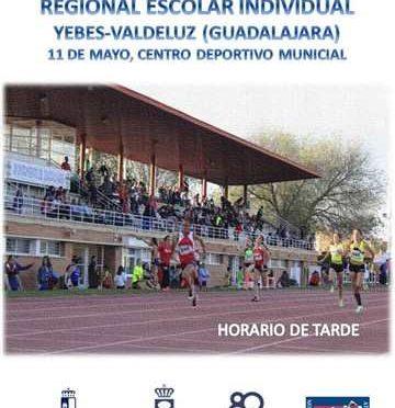 3ª Jornada Regional Escolar Pista Aire Libre Guadalajara