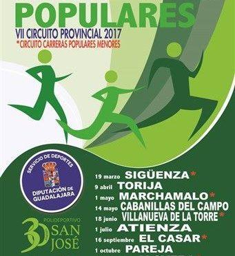 VII CIRCUITO CARRERAS POPULARES DIPUTACIÓN GUADALAJARA 2017