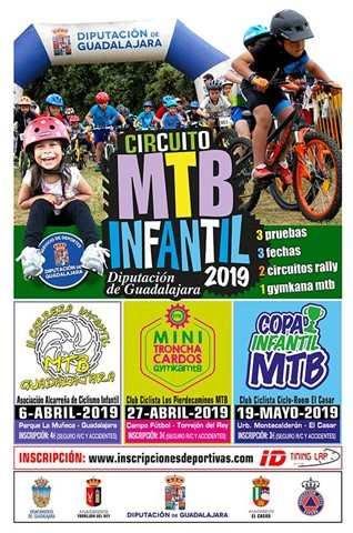 circuito mtb infantil diputacion de guadalajara 2019