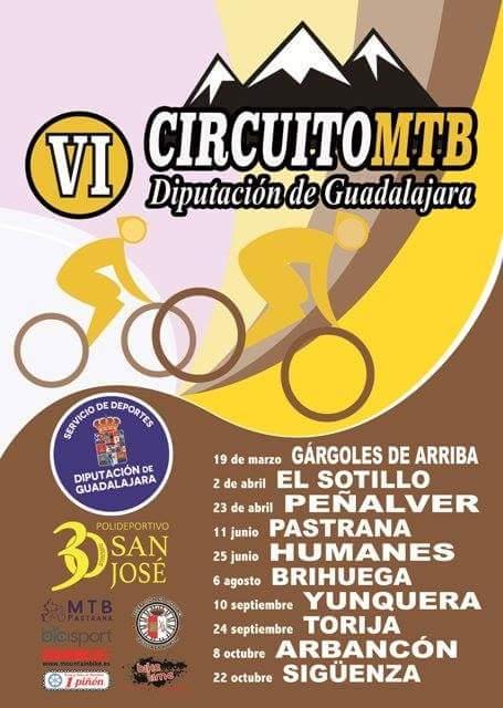 Circuito MTB DIputacion Guadalajara 2017