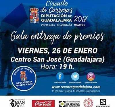 GALA ENTREGA PREMIOS CIRCUITO CARRERAS 2017