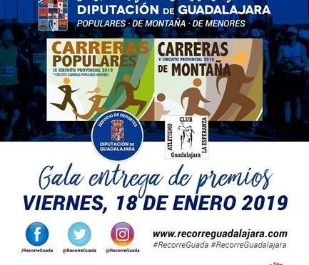 Gala entrega Premios Circuito Carreras Diputación 2018