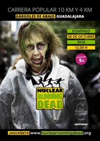 i carrera popular nuclear running dead 2016