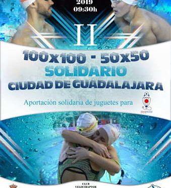 II 100×100 y 50×50 Ciudad de Guadalajara Relevos Natación