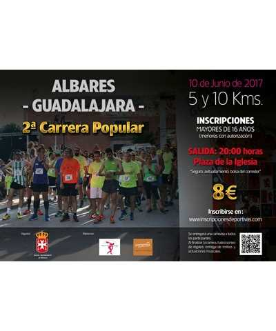 ii carrera popular de albares 2017