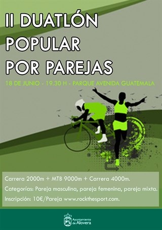 ii duatlon popular por parejas 2016