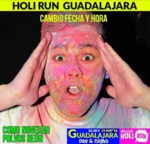 ii holi run guadalajara 2016