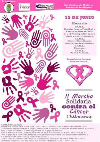 ii marcha solidaria contra el cancer 2016