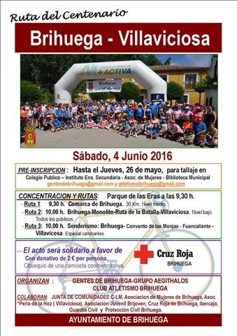 ii ruta del centenario brihuega villaviciosa 2016