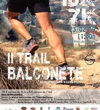 II Trail de Balconete – Memorial Juan Ramos Pazos