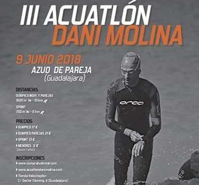 III ACUATLON DANI MOLINA