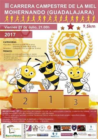 iii carrera campestre de la miel 2017