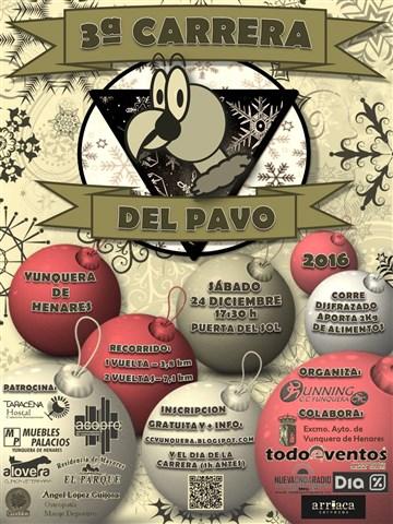 iii carrera del pavo 2016