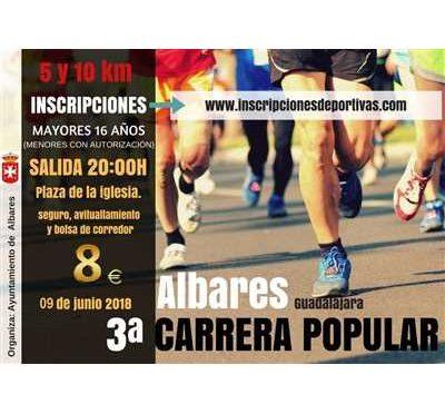 III CARRERA POPULAR DE ALBARES