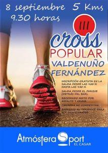 iii cross popular valdenuño fernandez 2018