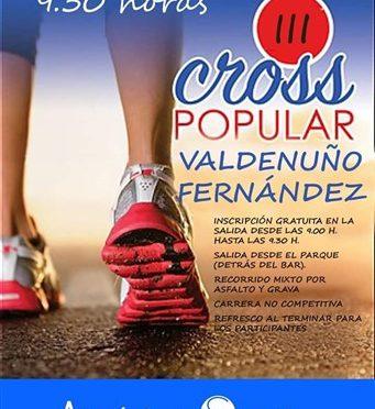 III CROSS POPULAR VALDENUÑO FERNÁNDEZ