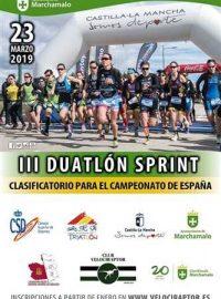 iii duatlon sprint marchamalo 2019
