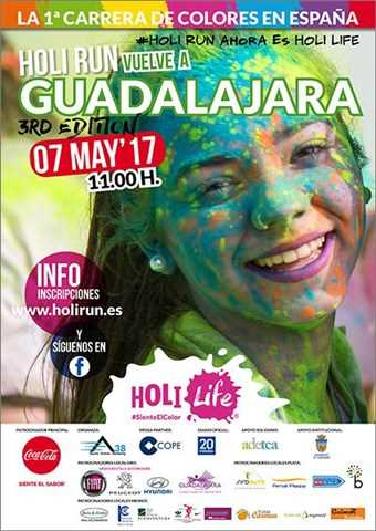 iii holi run guadalajara 2017