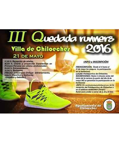 iii quedada runners chiloeches 2016