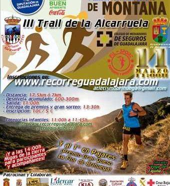 III TRAIL DE LA ALCARRUELA