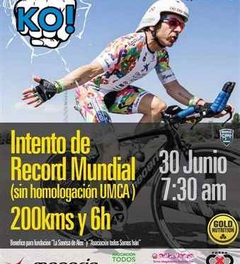 INTENTO RECORD MUNDIAL 200KMS y 6H