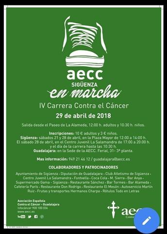 iv carrera contra el cancer 2018