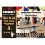 iv carrera popular de albares 2019