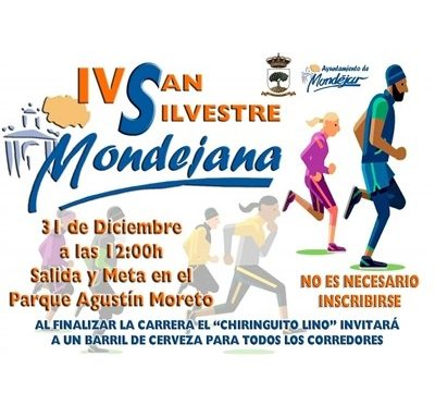 IV San Silvestre Mondejana