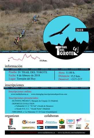 iv trail del torote 2018